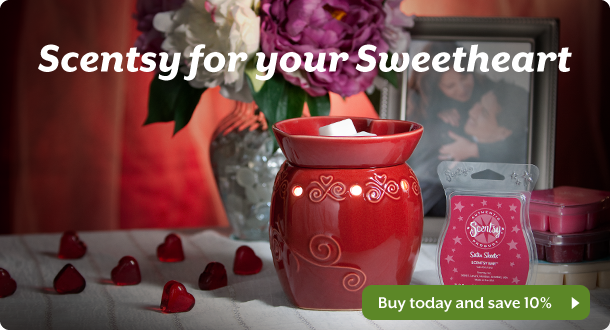 Scentsy Hugs and Kisses Warmer