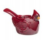 cardinal bird candle warmer
