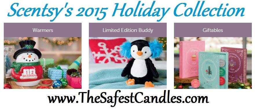 Christmas 2016 Scentsy Candle Collection