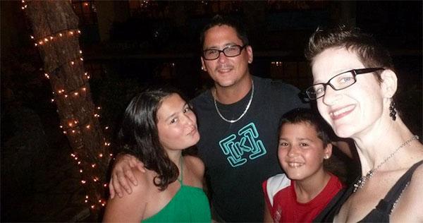 Shawn, Wendy, Alex and Sam Robinson