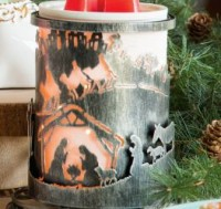 away in a manger scentsy wrap