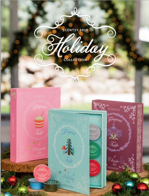 Scentsy Holiday Collection 2015