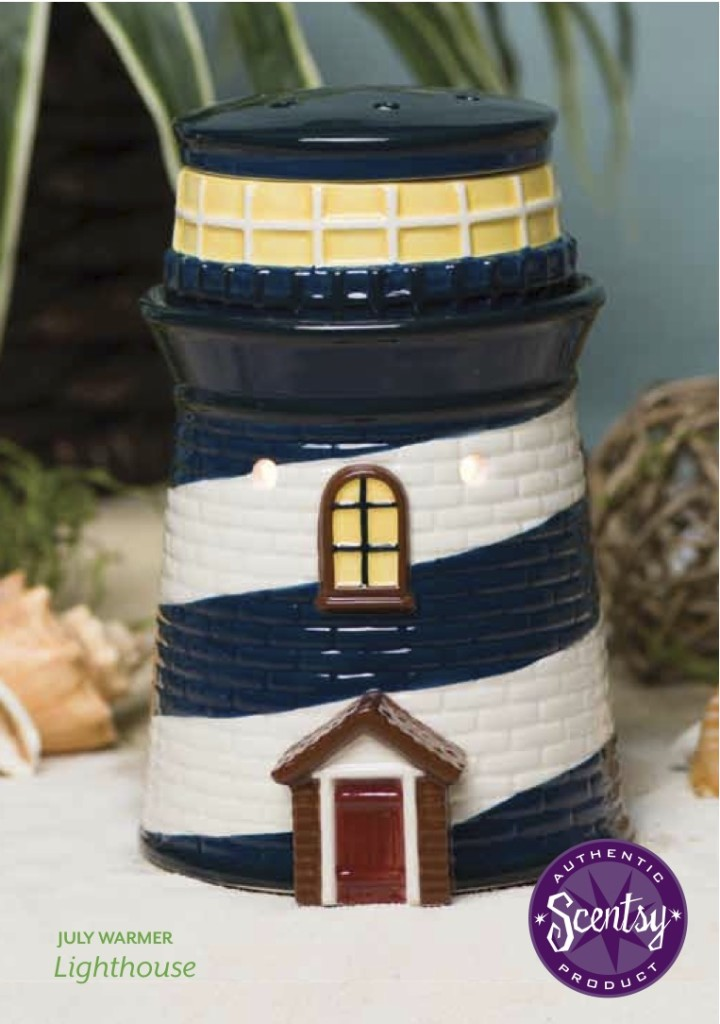 lighthouse candle warmer