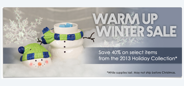 Scentsy Winter Warmer Up