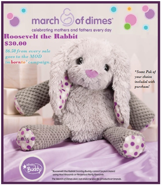 scentsy buddy rabbit