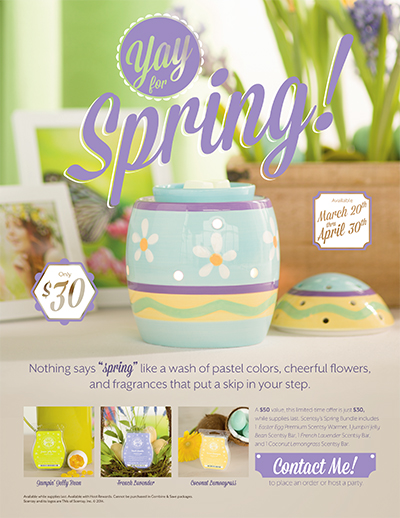 Scentsy Easter