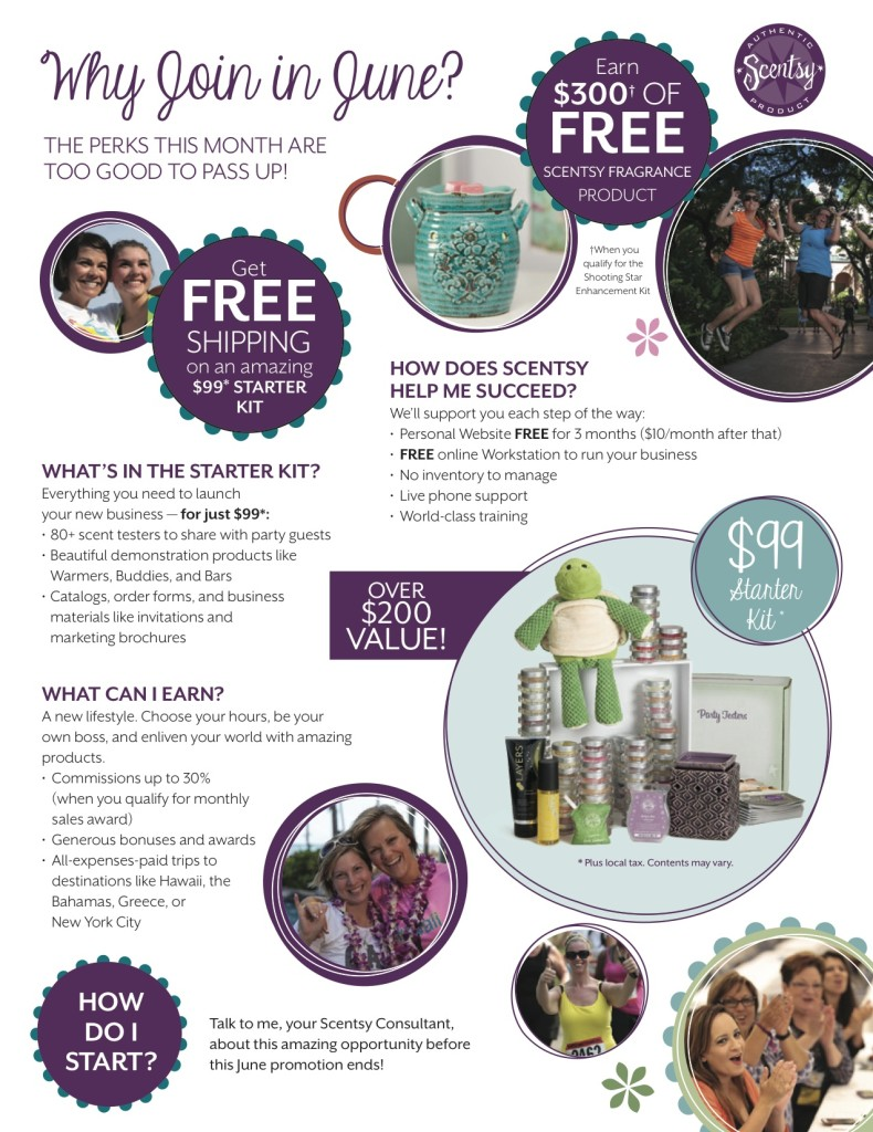 Join Scentsy Now