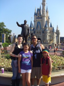 Disney World Family Trip Magical Kingdom