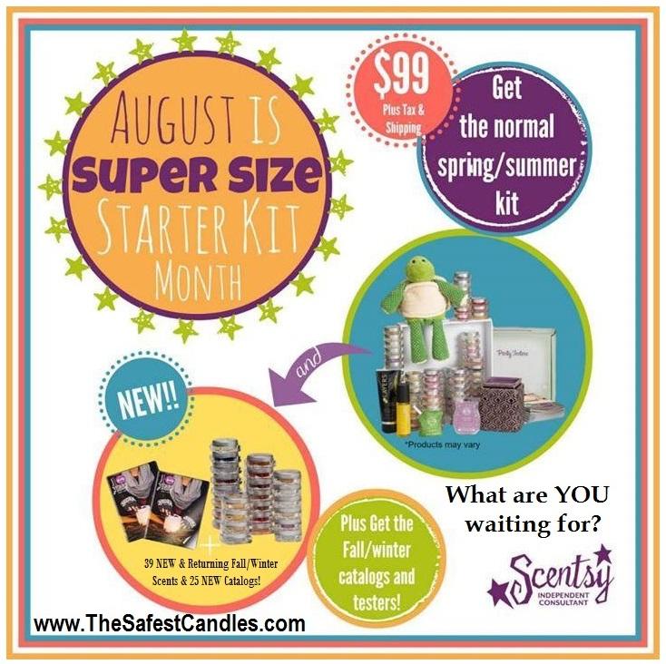 Join August 2014 Super Sized Starter Kit