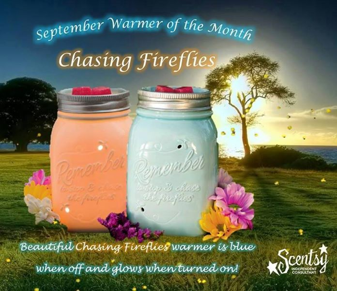 Chasing Fireflies – Scentsy Warmer of the Month September 2014