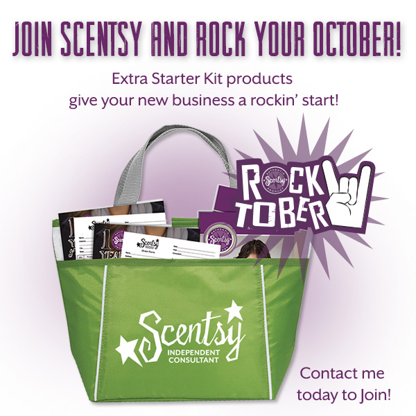 Join Scentsy and Rock October – Start your own Business!