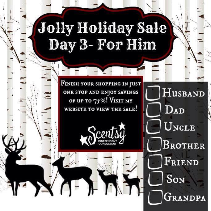 Scentsy Jolly Holiday Sale - Gifts for Him