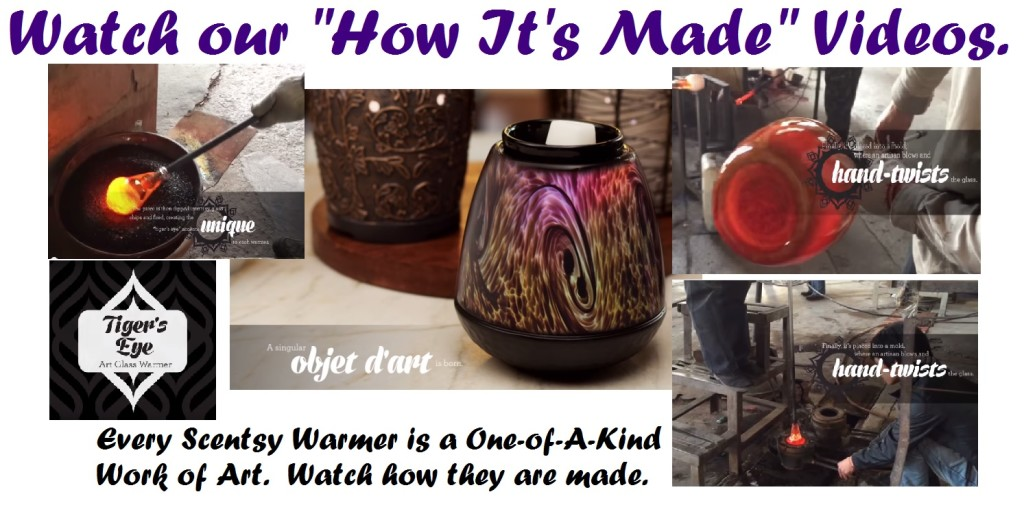 See how Scentsy Warmers are made one-of-a-kind work of art.