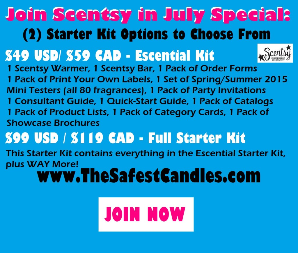Join Scentsy in July