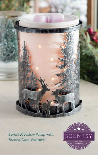 Forest Meadow Scentsy Warmer of the Month December 2015