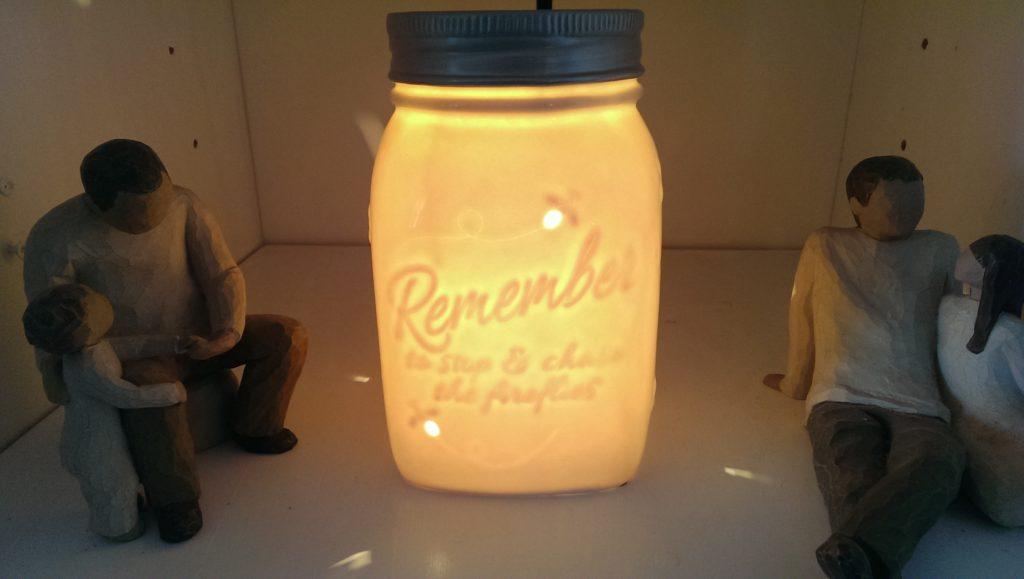 Chasing fireflies glowing Scentsy Warmer