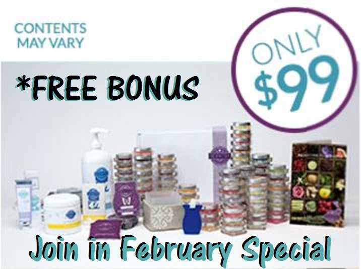 FREE Bonus Starter Kit Products when you Join Scentsy in February