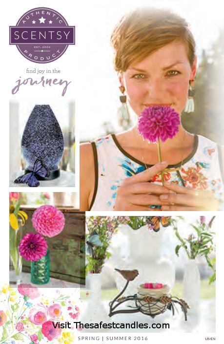 Scentsy Spring Summer Catalog 2016