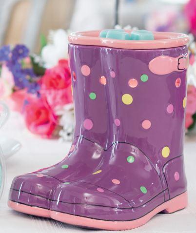 rainboot scentsy warmer