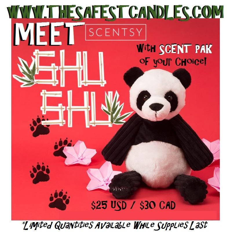 Shu Shu Panda Scentsy Buddy