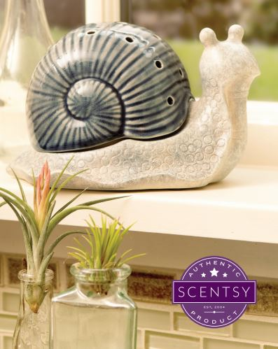Scentsy Garden Snail Warmer