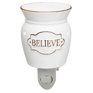 Believe Scentsy Nighlight Warmer