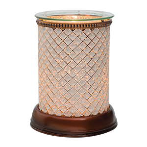 Cream Diamond Scentsy Lampshade Warmer
