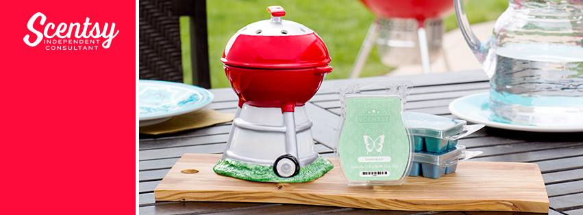 Fathers Day Scentsy BBQ