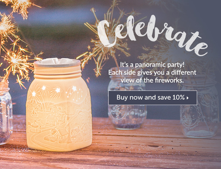 Celebrate Scentsy Warmer June 2016