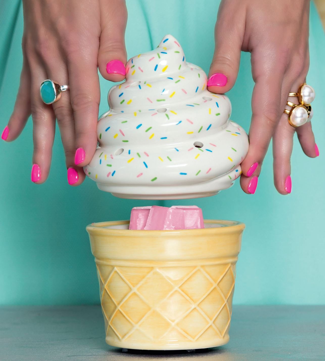 Ice Cream Cone Scentsy Warmer