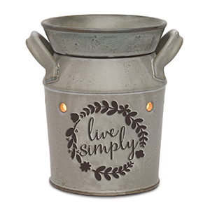 Live Simply Scentsy Candle Warmer