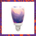 Blue Watercolor Nightlight Warmer
