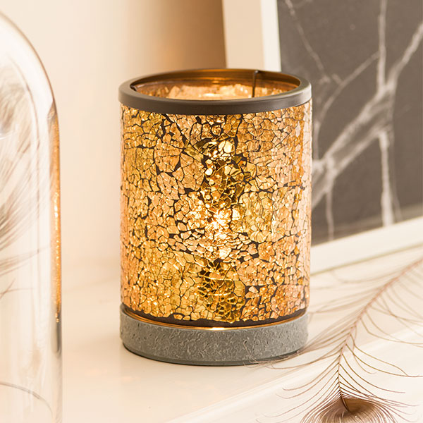 gold crush scentsy warmer scentsy warmers the safest candles