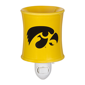 University of Iowa Hawkeyes Scentsy Nightlight Warmer
