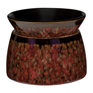 Scentsy Red Marble Warmer