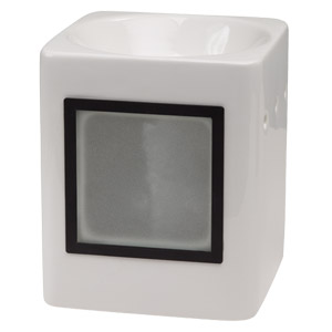 Sleek White Custom Gift Scentsy Warmer