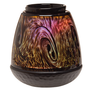 Scentsy Tigers Eye LED Glass Warmer