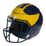 Michigan Wolverines Football Helmet Scentsy Warmer
