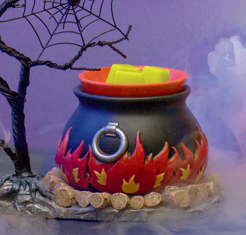 Hocus Pocus Scentsy Warmer Cauldron