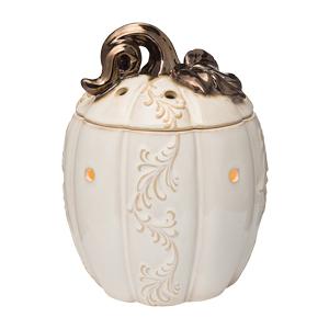 Lumina White Pumpkin Scentsy Warmer