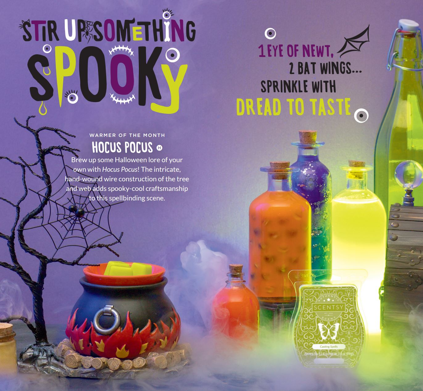 Scentsy Septmber 2016 Warmer of the Month
