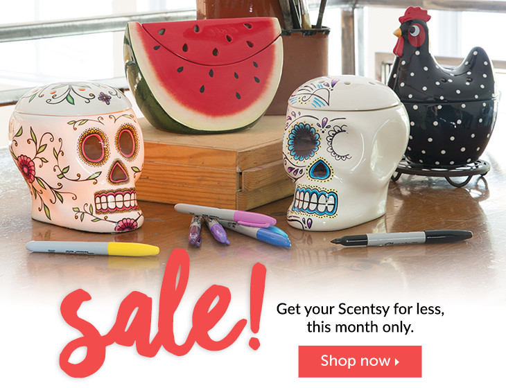 Scentsy August Sale