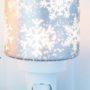 Falling Snowflakes Nightlight Warmer
