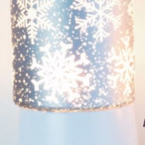 Falling Snowflakes Table Warmer
