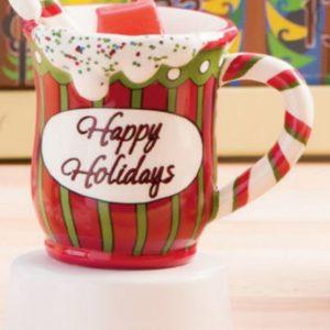 Happy Holiday Christmas Mug Scentsy Warmer