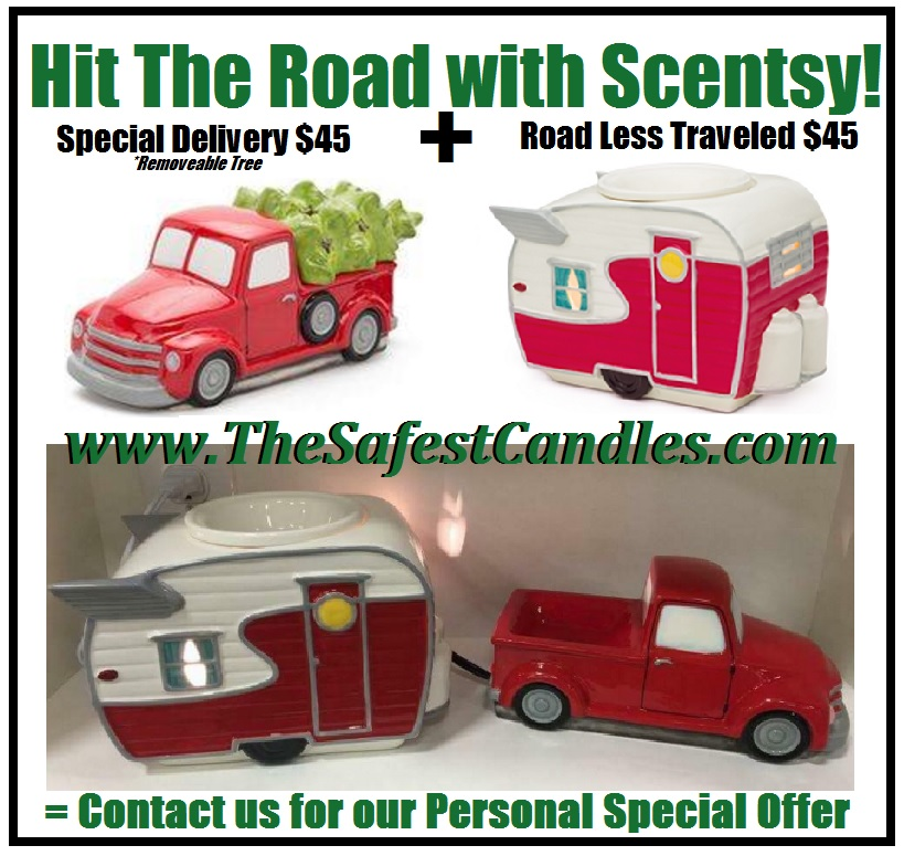 RV Camper and Truck Scentsy Combo