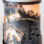 Away in a Manger Wrap with Etched Core Warmer