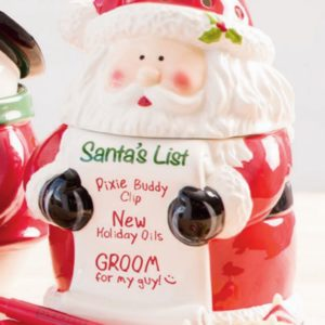 Santa Claus Wish List Scentsy Warmer