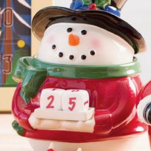 Countdown to Christmas Scentsy Snowman Warmer