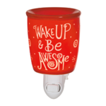 Wake Up Be Awesome Nightlight Warmer
